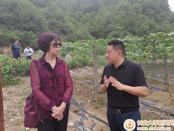 科技处党支部赴商南县对接科技扶贫工作