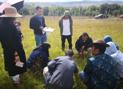 动科院教师为阿坝州林草系统开展培训
