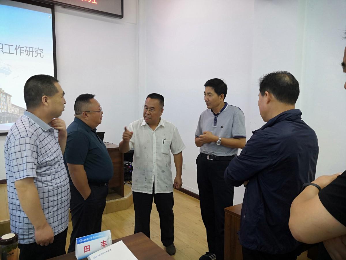 2019年天水市第七届人大代表学习培训班在我校开班