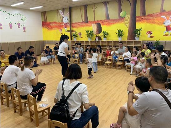 我校附属幼儿园举办亲子体验活动