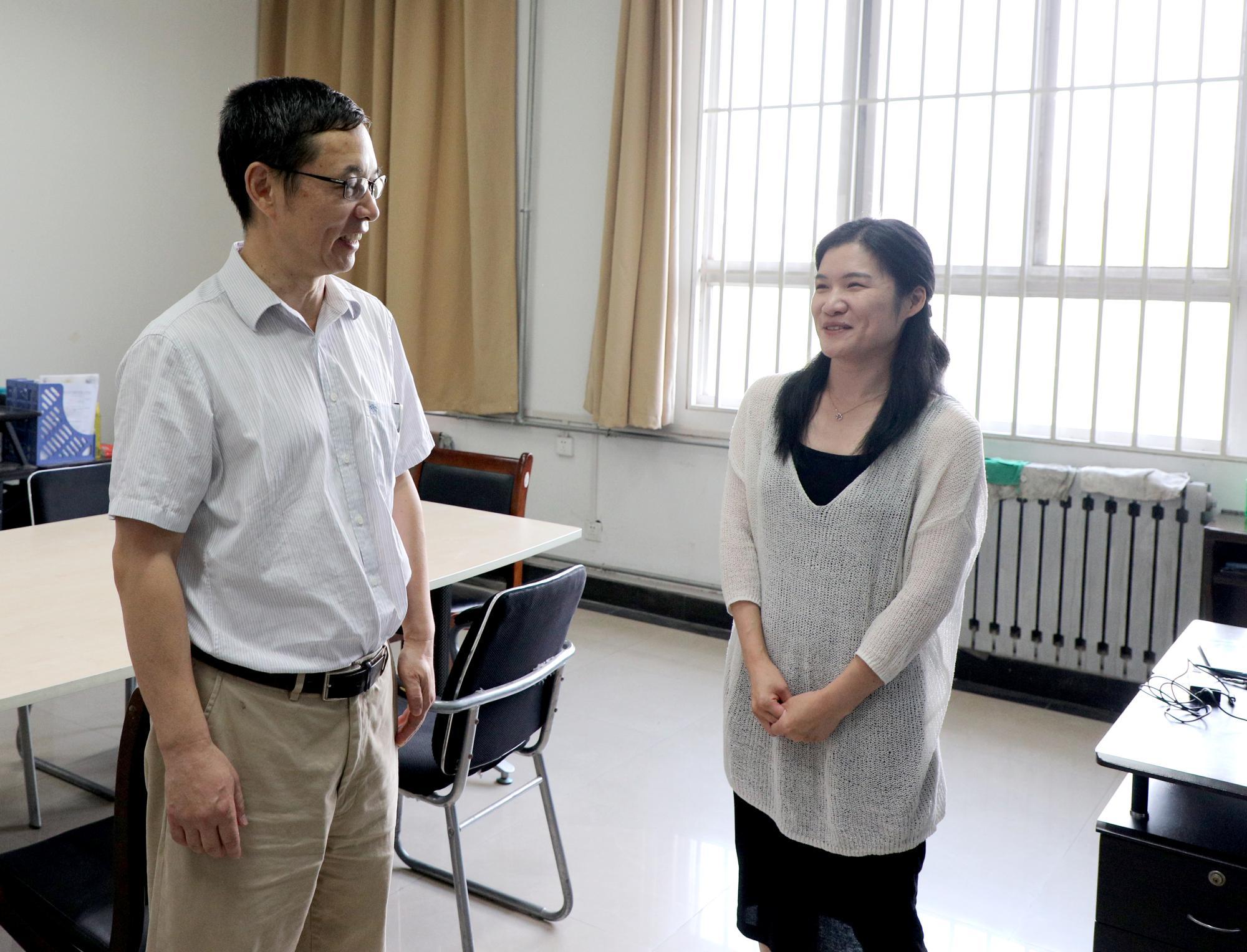 校领导看望慰问2019年西电最美教师个人和团队