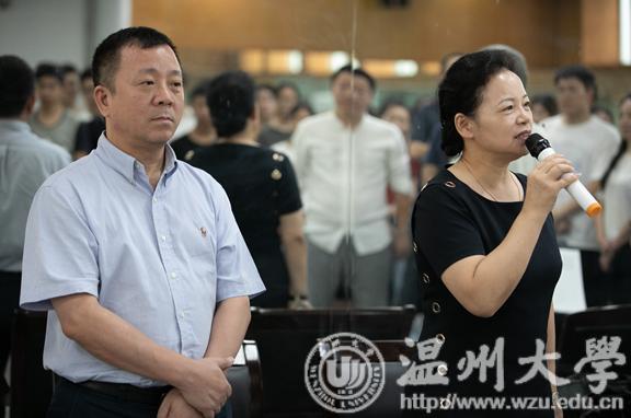 我校原创歌剧《五星红旗》紧锣密鼓排练 献礼新中国成立70周年