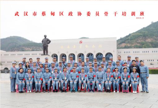 武汉市蔡甸区政协委员骨干培训班