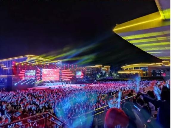 遵义医药高等专科学校举行庆祝新中国成立70周年暨2019迎新晚会