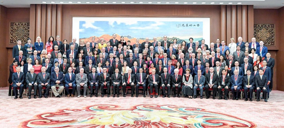 任福继教授荣获2019年度中国政府友谊奖