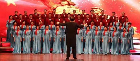 我校举行庆祝中华人民共和国成立70周年教职工合唱比赛