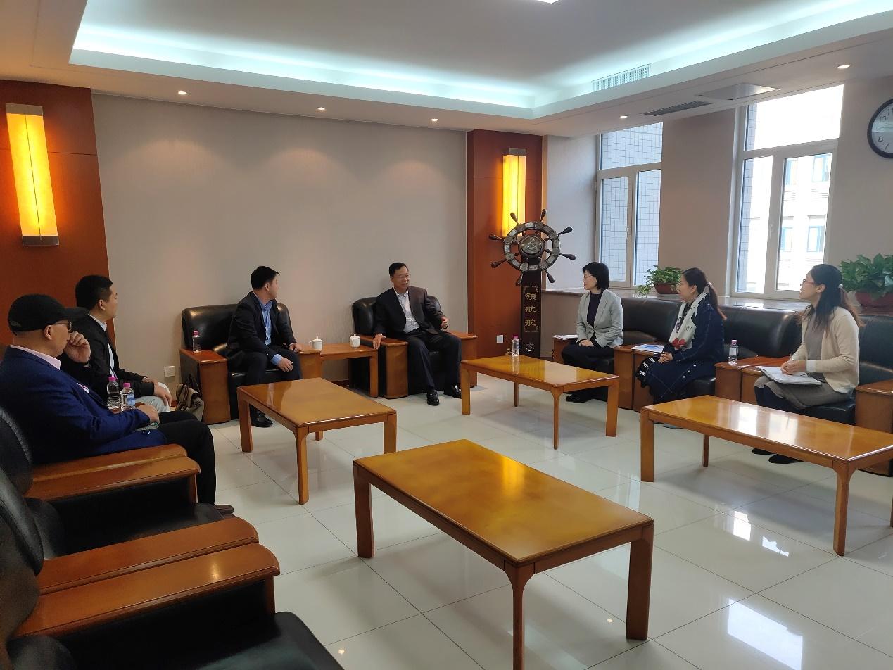 """山东管理学院举行数据中国""""百校工程""""建设项目座谈会"""