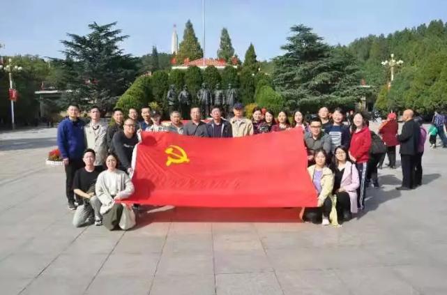 经济管理系党委赴西柏坡红色教育基地参观学习