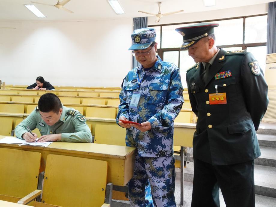 2019年下半年军队高等教育自学考试工作顺利进行