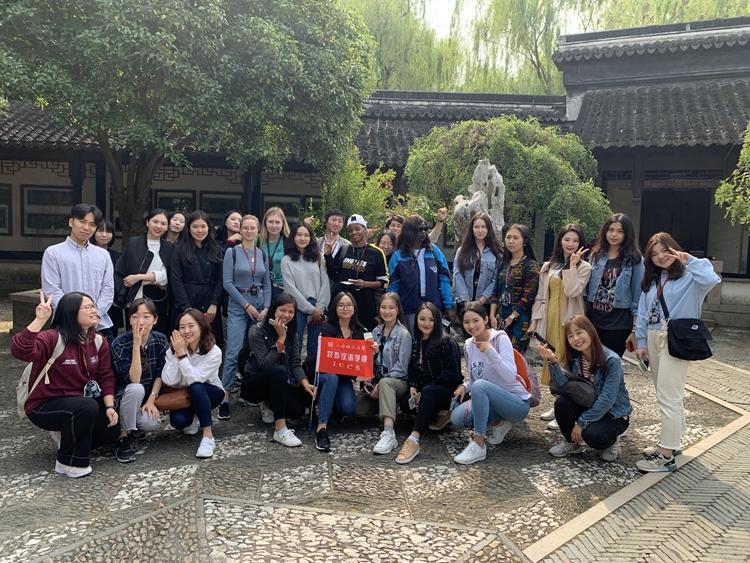 对外汉语学院举办2019年秋季留学生语言实践活动