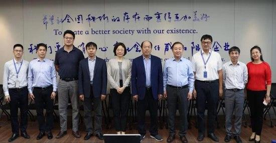 赵继到佛山研究生院调研并访问学生实习企业