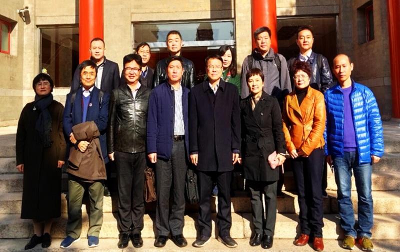 苏州大学统战部副部长叶明昌一行到我校调研
