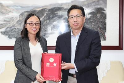 上海交通大学朱申敏教授受聘我校客座教授并作学术报告