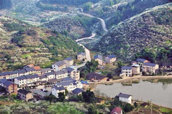 渝北区印盒村扶贫工作示范点