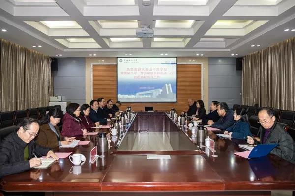 林志成带队到河南科技大学考察交流