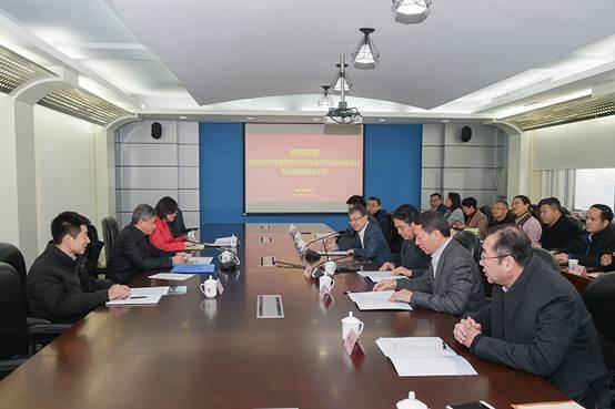 教育部学位管理与研究生教育司司长洪大用来校调研座谈