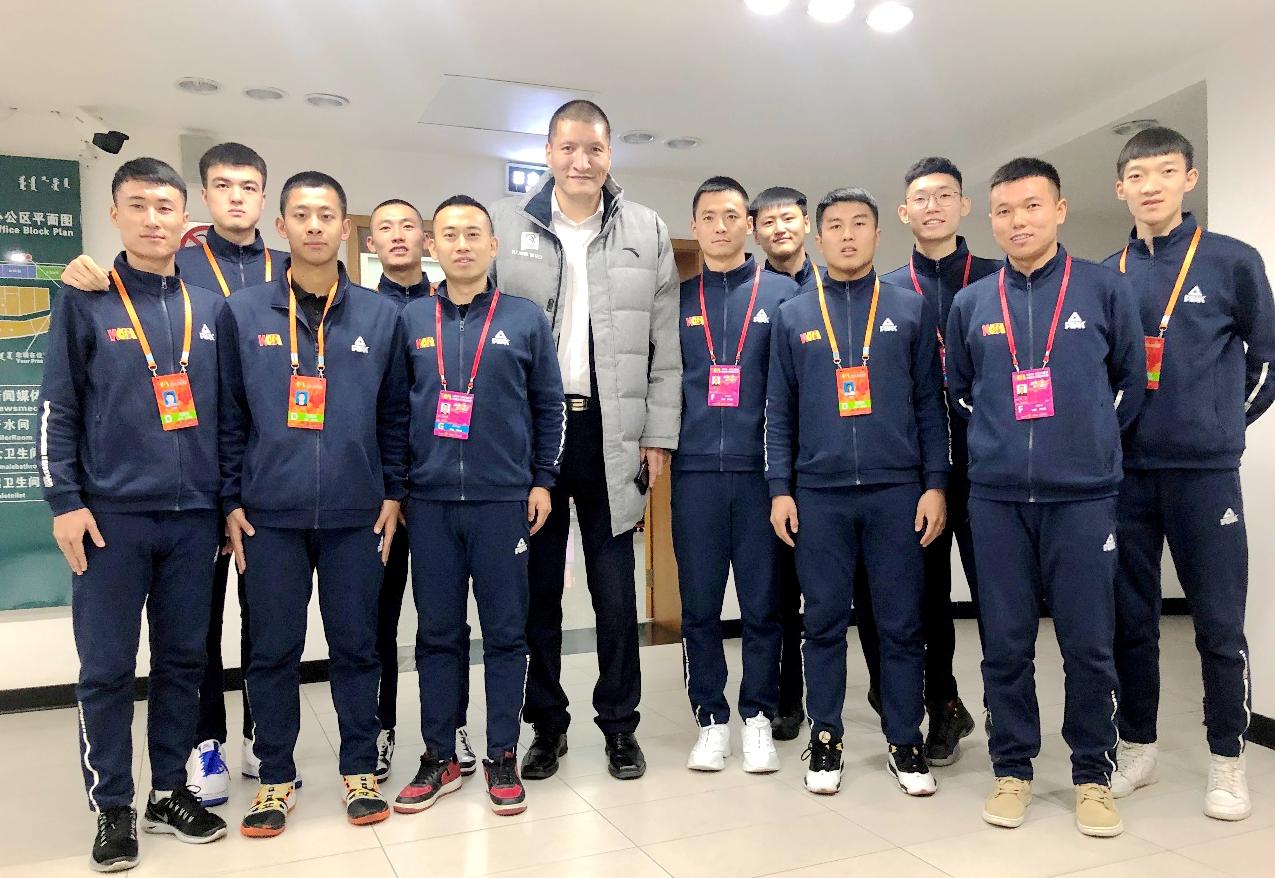 在WCBA中国女子篮球联赛赛场上亮出师大名片