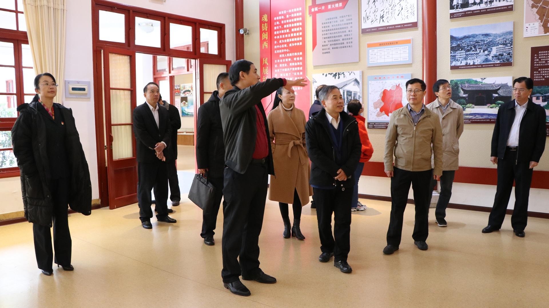 中央党校科研部主任林振义 省校院副校院长刘大可一行到院校调研