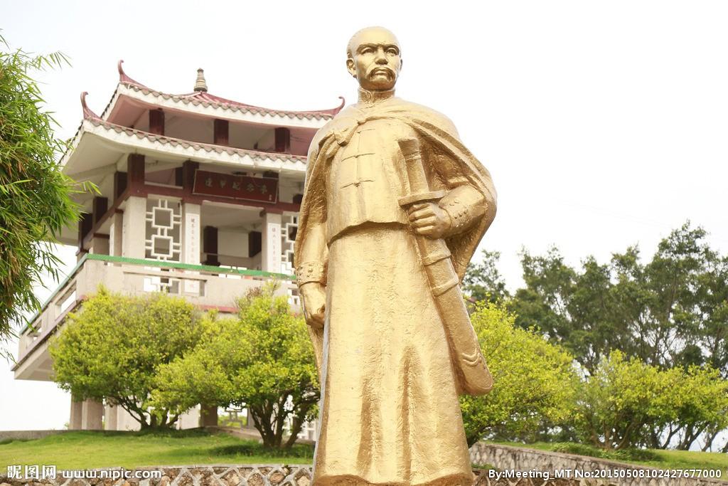 登上黄帝陵的台湾籍爱国诗人!