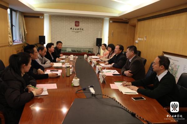 四川凉山州委、西昌民族幼专领导来访交流