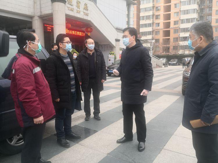 【抗击新型肺炎 华中大在行动】武汉市疾控中心来校检查指导校园疫情防控工作