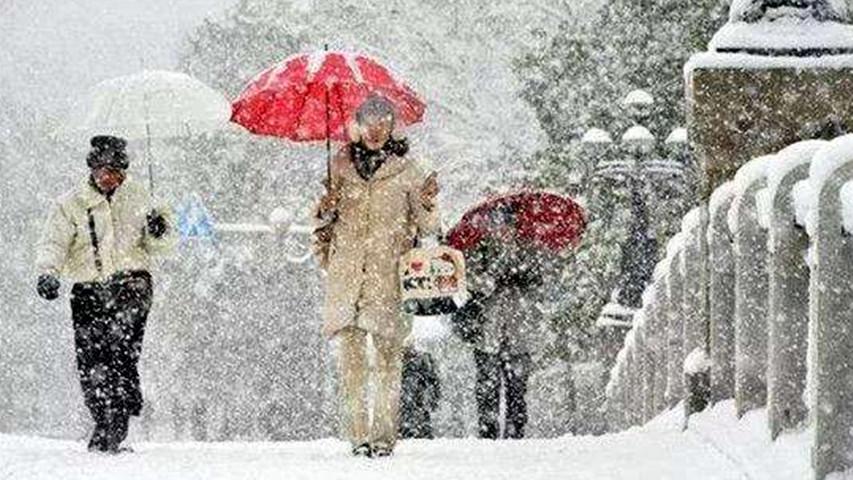 未来三天中东部地区将有大范围雨雪 27号雨雪范围最大