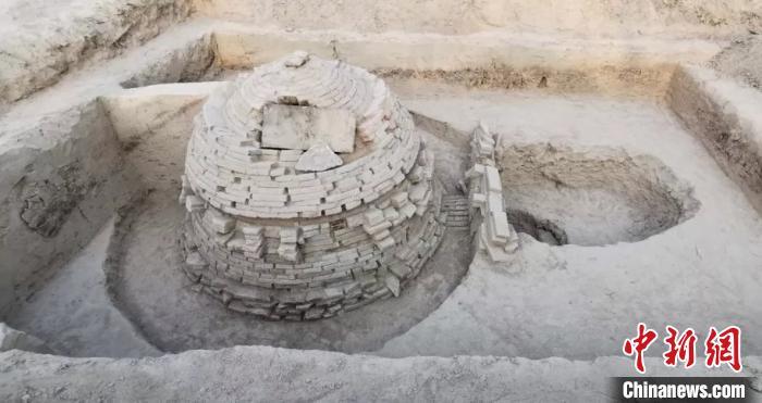 河北广宗发现四座北宋古墓 已展开抢救性挖掘