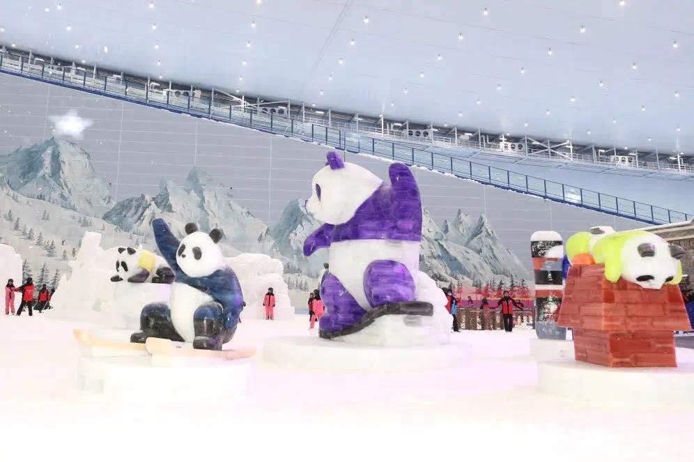 成都打造反季冰雪运动新场景