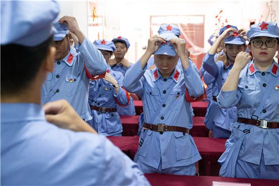 """第1101期:泸州高投集团管廊公司党支部""""不忘初心牢记使命""""——伟大转折,走向胜利党性教育专题培训"""