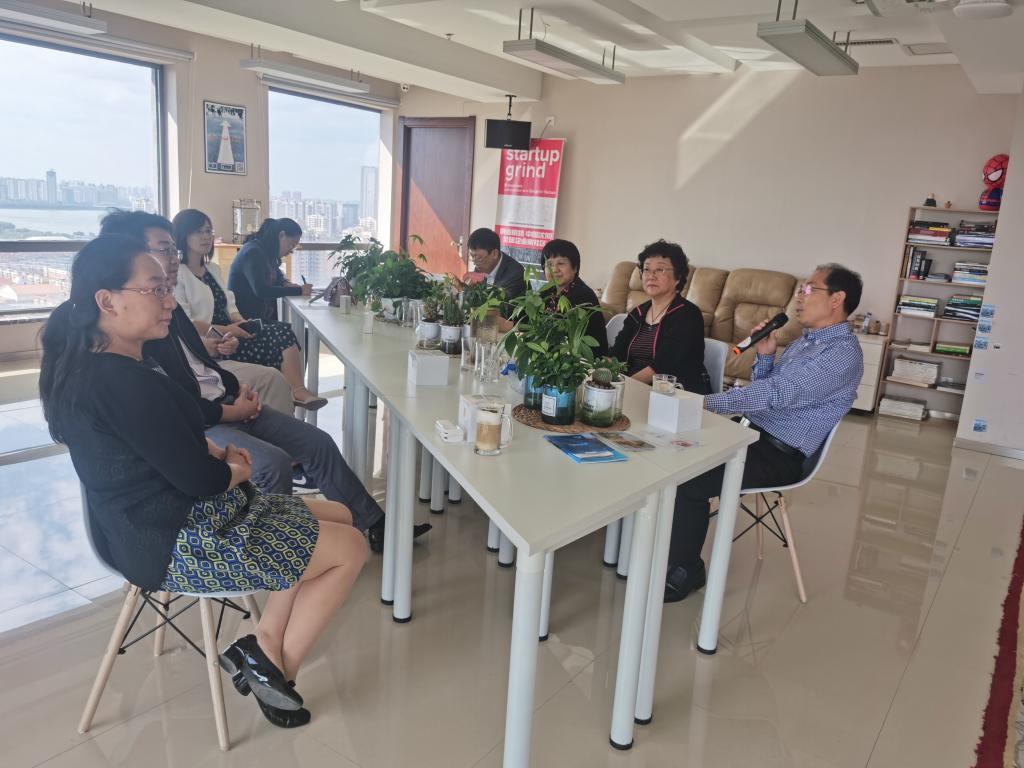 经济学院赴沈阳自贸区海外青年创业基地调研