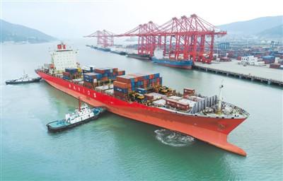 """""""十三五""""期间中国货物贸易规模多年位居世界第一"""