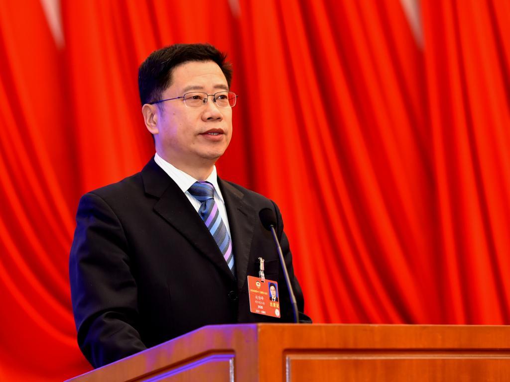 校党委书记赵险峰在河北省政协十二届四次会议上作大会发言