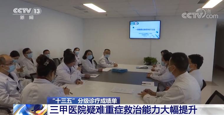"""【""""十三五""""分级诊疗成绩单】三甲医院疑难重症救治能力大幅提升"""
