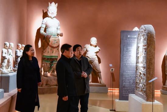 西北师大校领导赴博物馆调研指导新学期工作