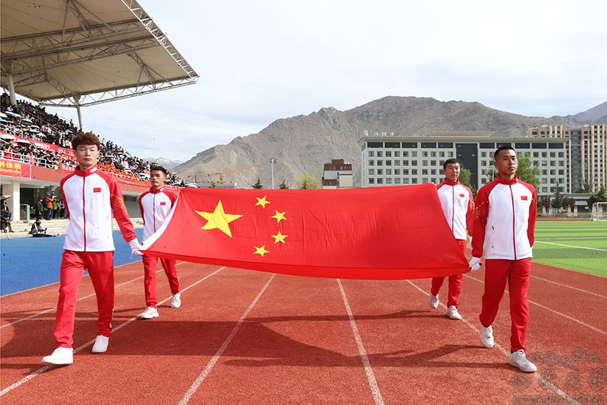 西藏大学第30届田径运动会隆重开幕