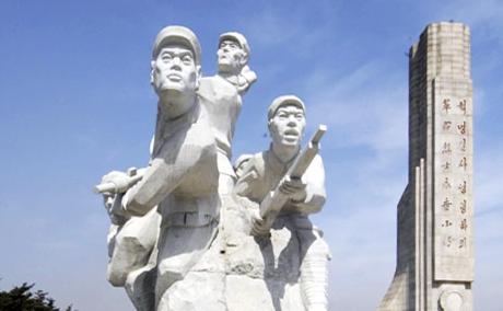 吉林红色教育培训基地-延边革命烈士陵园