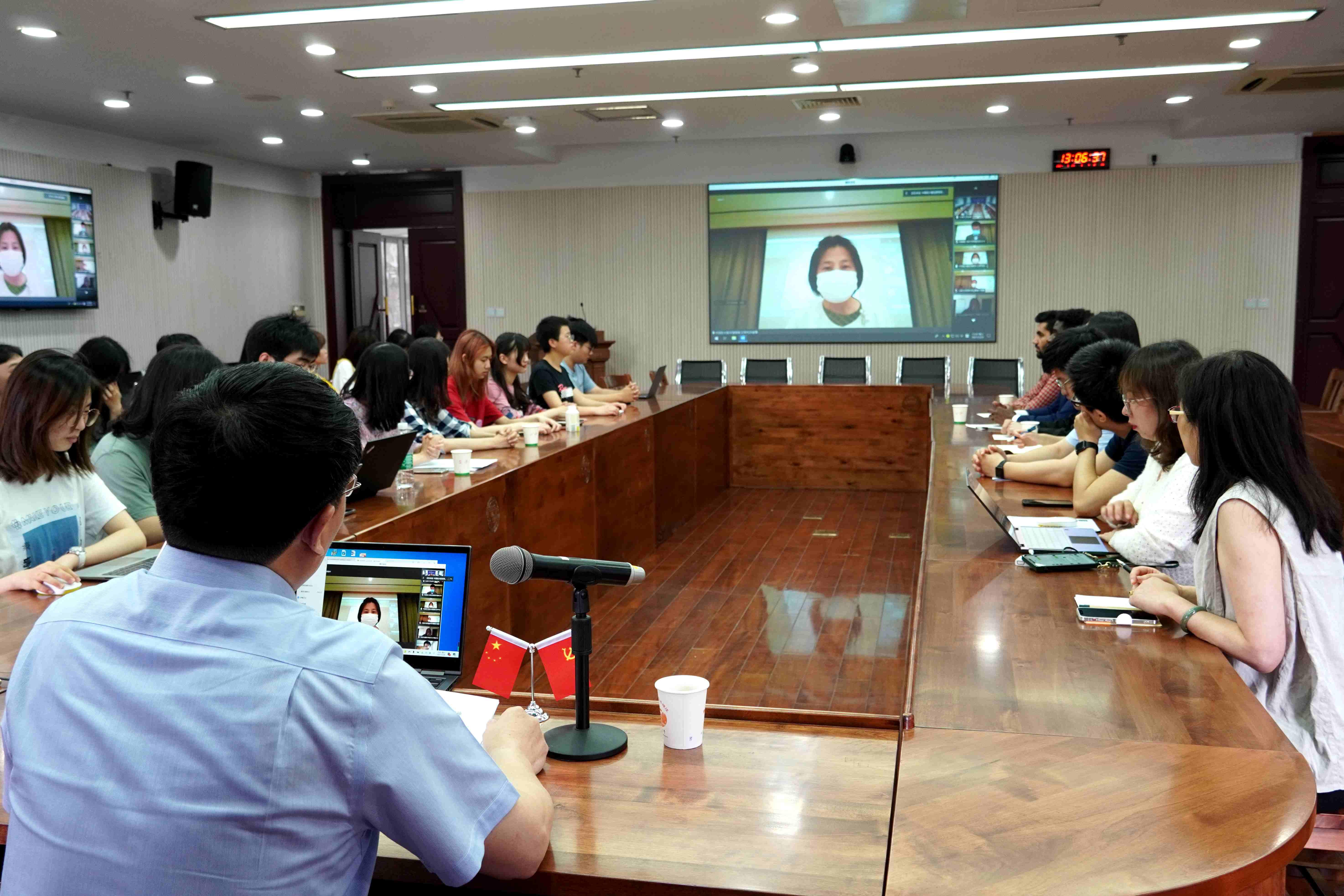 中国驻大阪总领事馆教育处与东南大学联合举办学习教育活动