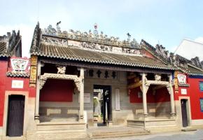 中国工农红军第七军军部旧址-广西党性教育培训基地