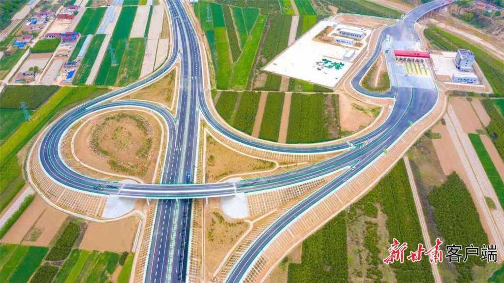 甘肃:甜永高速环县段各项工程建设任务顺利完成