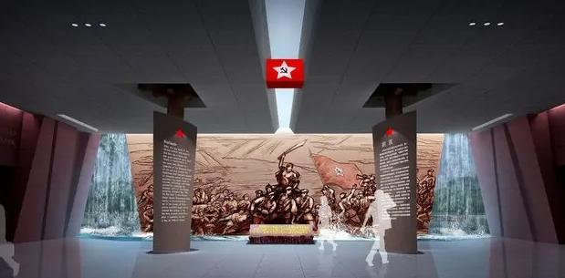 中国工农红军强渡大渡河纪念馆-四川干部培训红色教育基地