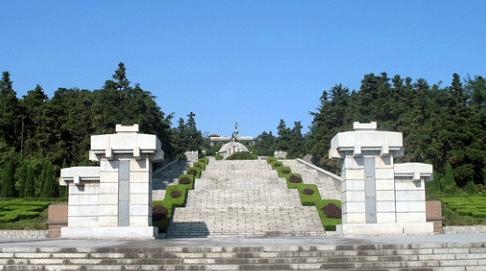 赣榆抗日山烈士陵园-江苏干部培训红色教育基地