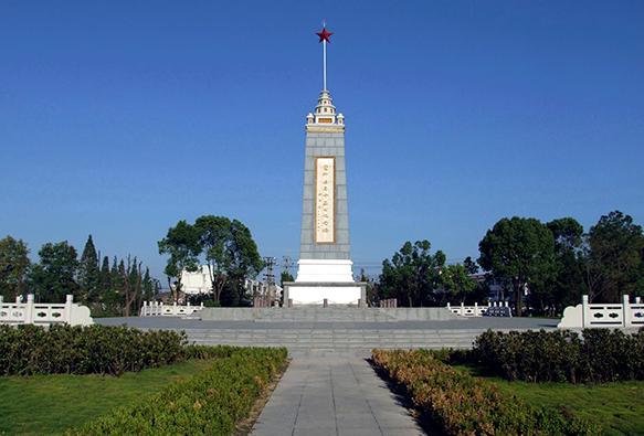 霍邱县烈士陵园-安徽党性教育基地