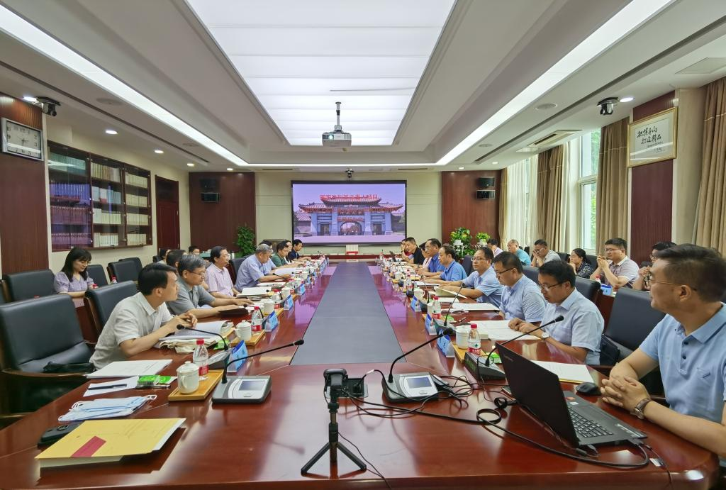 """国家社科基金重大项目""""中国历史上的灾害与国家治理能力建设研究""""开题论证会举行"""