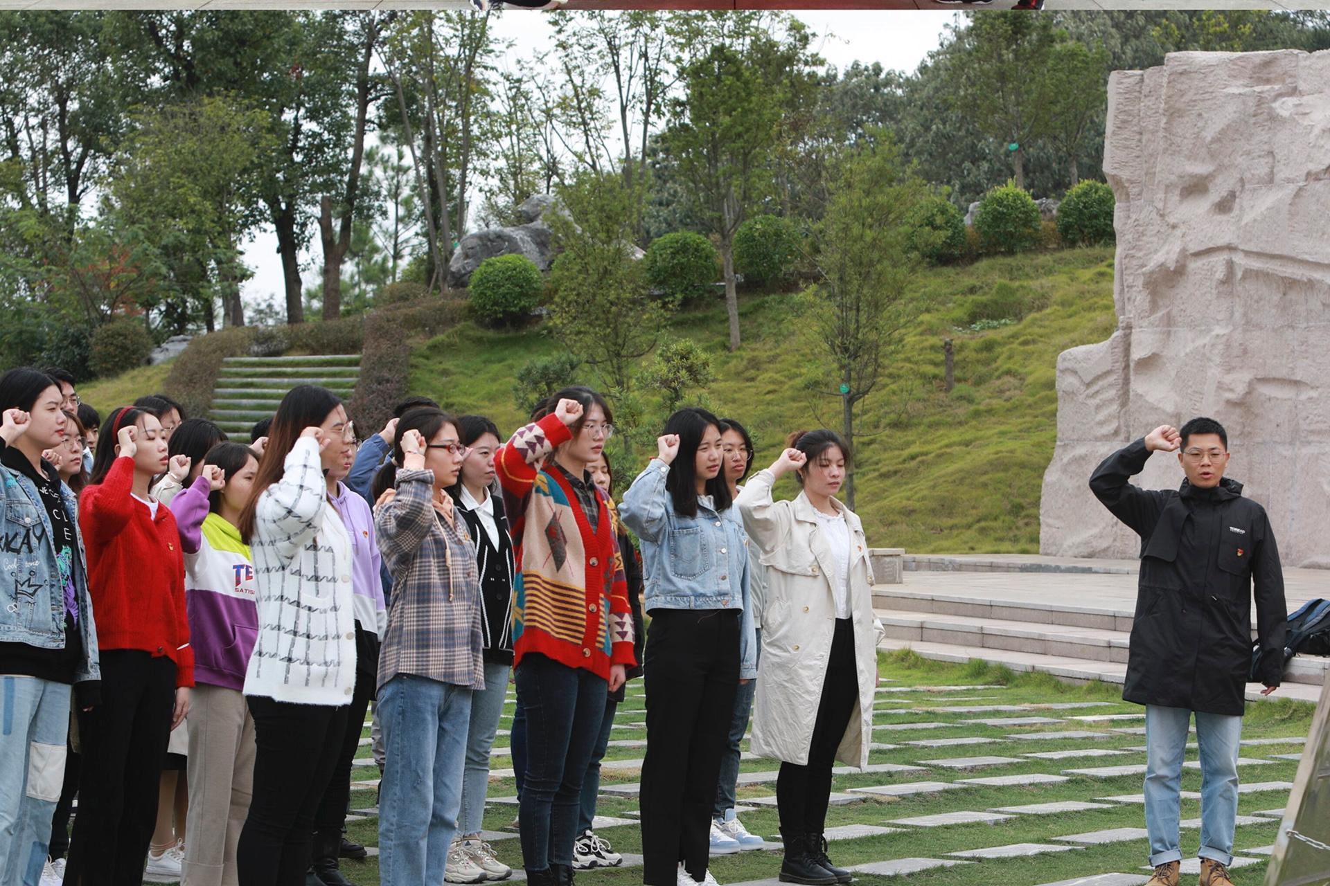 【党史学习教育】商学院党委组织学生党员赴全州开展主题红色教育